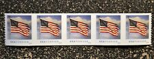 2016USA  #5052  Forever  U.S. Flag US - Coil Strip of 5   Mint  (SSP)