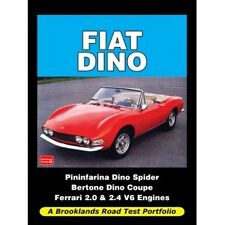 Fiat Dino Road Test Portfolio book Paper