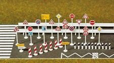 Busch 6027 Traffic Signs Kit - HO Scale - 1st Class Post