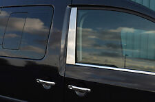 Chrome Side window door B Pilastro Trim Set copre per VW Volkswagen Caddy 2004-15