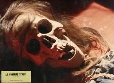 WALDEMAR WOLFAHRT  PATRICIA LORAN  LE VAMPIRE SEXUEL  1971 VINTAGE LOBBY CARD