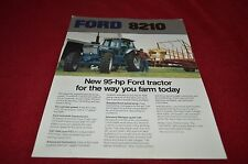 Ford 8210 Tractor Dealer's Brochure DCPA7