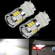 2X 3157 720 Lumen High Power 5630 Chip LED White Daytime Running Lights Bulbs