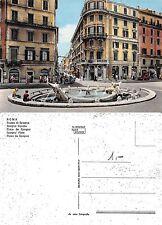 Roma - Piazza di Spagna ANIMATA CON AUTO (S-L XX318)
