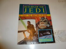 Star Wars POSTER Comic - Return of the Jedi - No 1 - Date 1983 - UK Marvel Comic