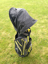 New Retractable JL Golf waterproof bag rain hood cover. Universal fit mac