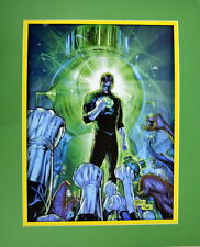 HAL JORDAN & GREEN LANTERN CORP PRINT PROFESSIONALLY MATTED DC New 52