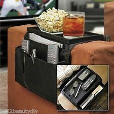 6 Pockets Sofa Handrail Couch Armrest Arm Rest Organizer Remote Control Holder