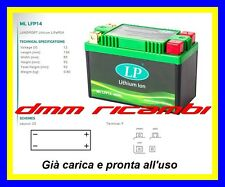 Batteria Litio Moto LiFePO4 LP ML-LFP14 equivalente = YUASA YB10L-B YB10LB