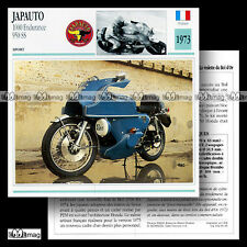#066.05 JAPAUTO 1000 ENDURANCE & 950 SS 1973 Fiche Moto Motorcycle Card