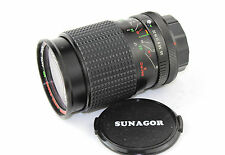 CANON FD Fit Sunagor MC 1:3.5-5.5 F=28-100mm Auto Zoom Lens for the A & T Range.