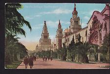 c1915 Palm Avenue PPIE exposition California PNC postcard
