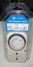 Timer Orologio a Spina Analogico Giornaliero 24 Ore Temporizzatore PROGRAMMABILE