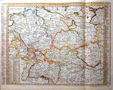 DEUTSCHLAND BÖHMEN SCHLESIEN ÖSTERREICH SCHWEIZ NOUVELLE CARTE CHATELAIN 1720