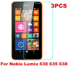 3PC HD Ultra Clear Screen Protector Cover Guard Film For Nokia Lumia 630 635 638