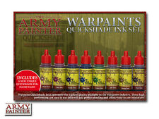 The Army Painter Warpaints Quickshade Ink Set & Painting Guide Free UK P&P