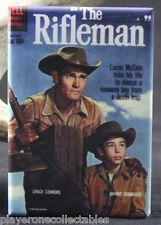 "The Rifleman #4 Dell Comic Book 2"" X 3"" Fridge Locker Magnet. Chuck Connors"