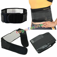 1pcs Soft Magnetic Heat Waist Brace For Pain Relief Lower Back Support Belt