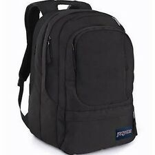 "JanSport AIR CURE Backpack 15"" Laptop Daypack Black #854 THS1854"