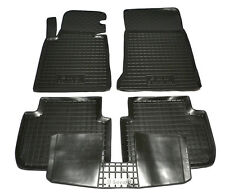 BMW E46 1999-2006 Rubber Car Floor Mats All Weather Fully Tailored Fussmatten