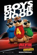 ALVIN AND THE CHIPMUNKS: THE ROAD CHIP ORIGINAL 27x40 MOVIE POSTER (2015) LEE