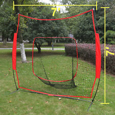 Baseball Net Cages sport play Indoor Outdoor Elevated Portable Big Mouth Soft