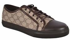 NEW Gucci Men's 309462 GG Supreme Low Top Sneaker Trainers Shoes 14 G 15 U.S