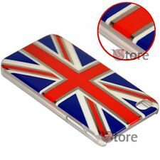 Cover Custodia Per iPhone 4 4S Bandiera Inglese Cromature + Pellicola Salva LCD
