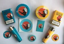 Natural American Spirit gift set ORGANIC tin, pocket-ashtray, bookmark, lighter