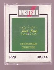 PP8 Games: Disc 4 (Amsoft) Amstrad DISK - (Trivial Pursuit) GC & Complete