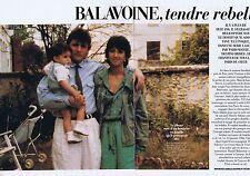 COUPURE DE PRESSE CLIPPING 1998 DANIEL BALAVOINE  (4 pages)