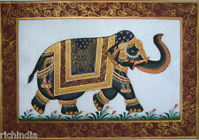 Painting Royal Elephant Ehs Pintura En  Real Handmade Online Sale India_AR162