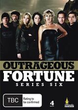 OUTRAGEOUS FORTUNE - SERIES 6, THE COMPLETE (4 DVD SET) BRAND NEW!!! SEALED!!!