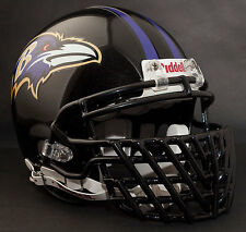 RAY LEWIS Super Bowl XLVII BALTIMORE RAVENS Riddell AUTHENTIC Football Helmet