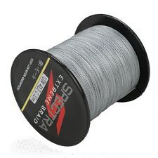 100M 40LB Grey Super Strong Dyneema Spectra Sea Braided Fishing Line ,NEW