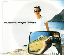 FOUNTAINS OF WAYNE - DENISE (3 track CD single)
