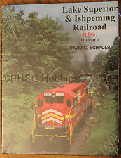 MORNING SUN BOOKS - LAKE SUPERIOR & ISHPEMING RR In Color Vol. I - HC 128 Pages