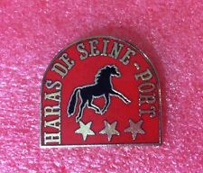 Pins Cheval Turf Hippisme Course HARAS DE SEINE PORT