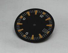 Plain Seamaster 300 Date Dial ETA 2824 2836 Movement Vintage Yellow Lume 31.15mm