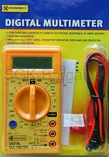 New Digital LCD Multimeter Voltmeter Ammeter OHM AC DC Circuit Checker Tester