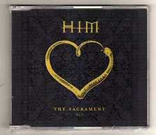 HIM - THE SACRAMENT  - CDS PART I   - SEALED MINT