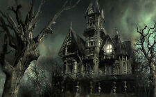 A3 Poster - Grim Ancient Gothic Haunted House (Picture Horror Art Ghost Demon)