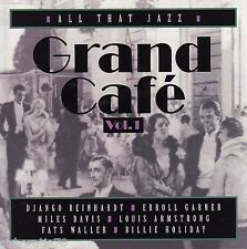 GRAND CAFE Vol.1 All That Jazz CD - 16 tracks