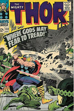 The Mighty Thor Comic Book #132, Marvel Comics 1966 VERY FINE-