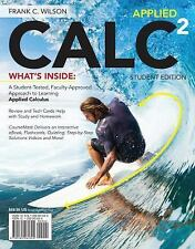 Applied CALC 2 (by Frank Wilson) - BRAND NEW TEXTBOOK!!