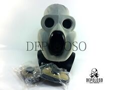 USSR Soviet military gas mask EO-19 PBF Grey rubber mask full set Size LARGE 3y