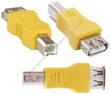 Lot10 USB Type A Female,B Male Port/Printer/KVM/Device/cable/cord/wire Adapter