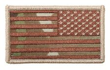 17772 Rothco American Flag Patch - MultiCam (Reverse) Made in USA