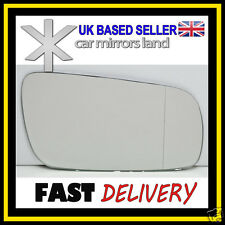 Right Driver Wing Car Mirror Glass Replacement Wide Angle  VW Golf 4 1994-2004