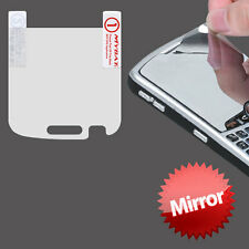 For Blackberry Bold 9900 9930 Mirror LCD Screen Protector With Micro Fiber Cloth
